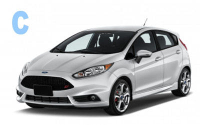 Authomar Rent a Car - Group C: Ford Fiesta, VW Polo, Peugeot 208 o similar