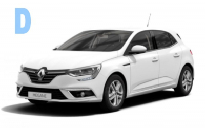 Authomar Rent a Car - Group D: Renault Megane o similar